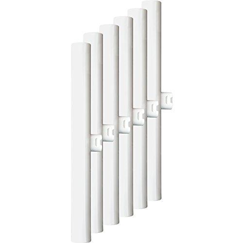 Müller-Licht 400132a, Set da 6HD linea lampada a LED sostituisce 28W, plastica, S14d, bianco, 30x 3x 3cm