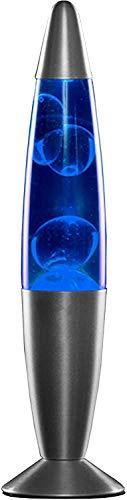 MODEZVOUS Lampada Lavatrice 35 cm, Lampada Magma Lava Applique, Lampada Lavatrice, Lampadina R39 da 25W in dotazione, Cavo con interruttore, Idea Regalo Natale con Lampadina - Blu