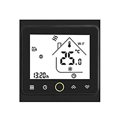 MOES Wi-Fi APP Control Voice Control - Termostato digitale da parete, compatibile con Alexa/Google a casa, colore: Bianco