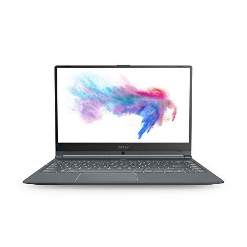 "MSI Modern 14 A10M-1068XIT, Notebook 14"" FHD, Intel Core I5-10210U, 8GB DDR4 2666MHz, 256GB SSD M.2 PCIe, No-OS [Layout e Garanzia Italia]"