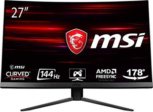 "MSI Optix MAG271C LCD Monitor Gaming 27"" Curvo, Pannelo VA, 144 Hz, 1ms"