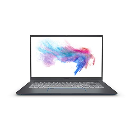 "MSI Prestige 15 A10SC-002IT Notebook, 15,6"" FHD, Intel Core i7 10710U, 16GB RAM, 512GB NVMe SSD, Nvidia GTX 1650 Max-Q GDDR5 4GB [Layout italiano]"