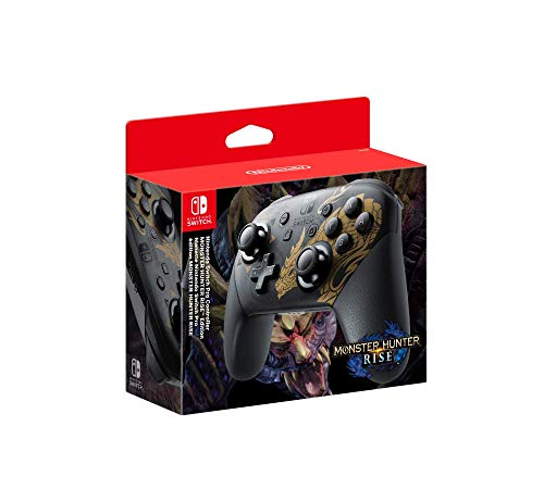 Nintendo Switch Pro Controller Edizione Speciale Monster Hunter Rise - Special Limited - Switch