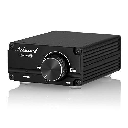 Nobsound, subwoofer, mini amplificatore audio, con canale mono a frequenza intera, 100 W