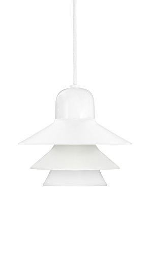 Normann Copenhagen Ikono - Lampada da soffitto in vetro, 17 x 20 cm, colore: Bianco