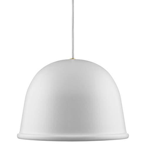 Normann Copenhagen Jonas Wagell Lampada da soffitto, Bianco, H: 19 x Ø: 28 cm