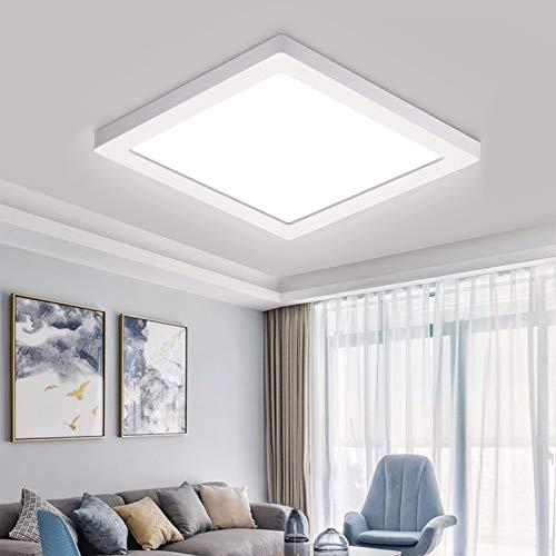 Oeegoo 24W LED Plafoniera a soffitto, 2040lm Plafoniera led sottile per soggiorno Sala da pranzo Camera da letto Bagno Cucina Balcone Corridoio, 4000K