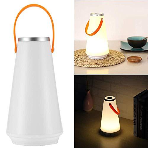 ONEVER Bella LED senza fili domestico portatile luce di notte Lampada da tavolo tattile USB ricaricabile Interruttore luce di campeggio esterna di emergenza (1PC)