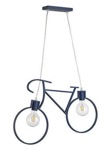 Onli Bike Lampada a Sospensione, Blu