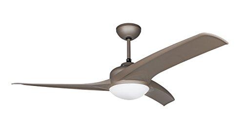Orbegozo CP–Ventilatore da soffitto con Luce e Telecomando, 3sessole 105 cm Marrone