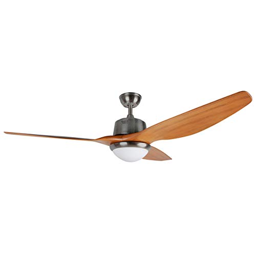 Orbegozo Ventilatore da soffitto con luce LED, diametro 160 cm, 3 velocità di ventilazione, timer da 1, 2, 4 e 8 ore, potenza 85 W, non applicabile