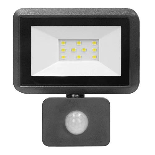 ORNO Bulled Faretto LED da Esterno Con Sensore Di Movimento 10-50W IP44 Wasserdicht 800-4000lm (10W 800lm)