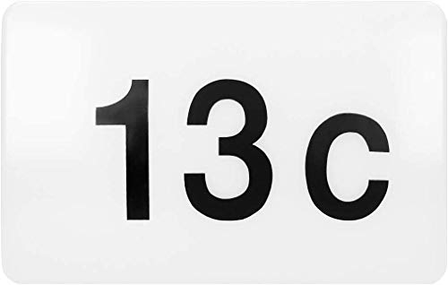 ORNO Porfir Numero civico Applique da esterno con sensore crepuscolare montaggio a parete 950lm IP65 impermeabile