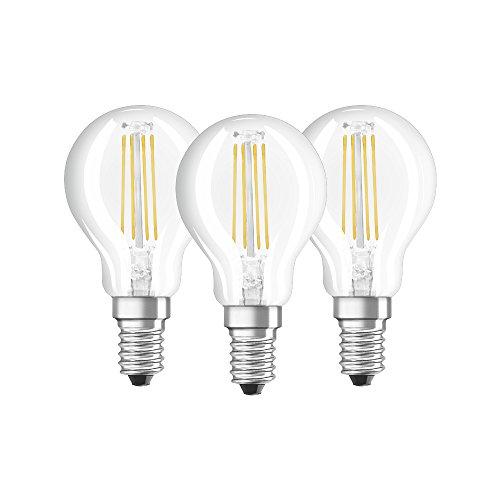 Osram 4058075819733 Lampada LED, Vetro, 3 Lamp, Luce Neutra