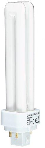 Osram Dulux D/E 18W/830 Lampada fluorescente compatta