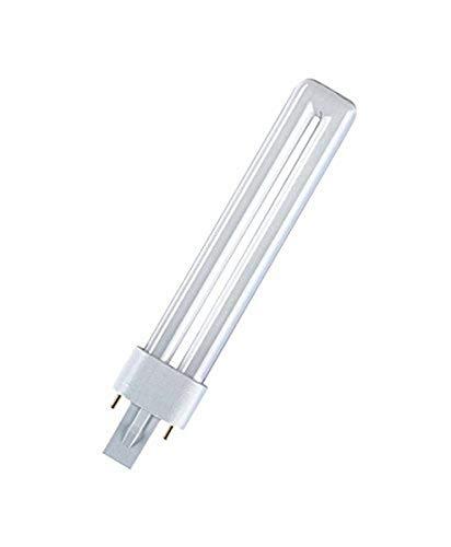 Osram DULUX S 11 W/900 Lampada Fluorescente Compatta, Bianco Neutro, 4000 Kelvin, compact fluorescent light (cfl), g23, tubolare