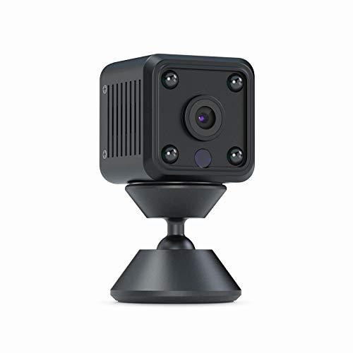 OWSOO Telecamera Nascosta WiFi, 1080P HD Telecamera Spia con Visione Notturna, Registrazione Video e Rilevamento del Movimen