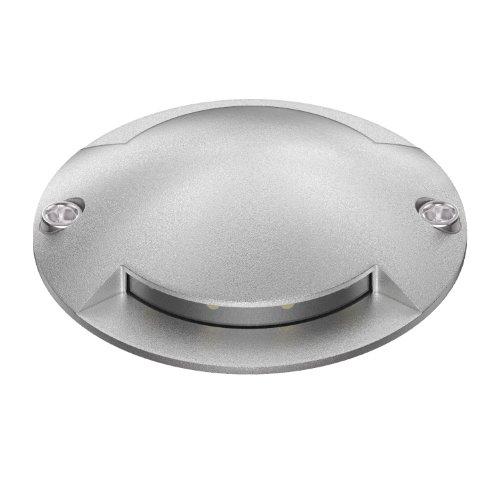 parlat LED Lampada a pavimento Bunda 2-Beam da esterno, carrabile, bianca fredda