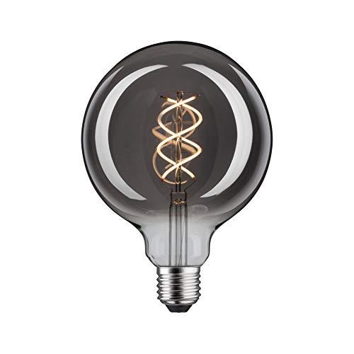 Paulmann 28597 Lampadina LED Globe 4 W 1879 Grand Edition lampadina dimmerabile vetro opaco filamento a spirale 2700K bianco caldo E27
