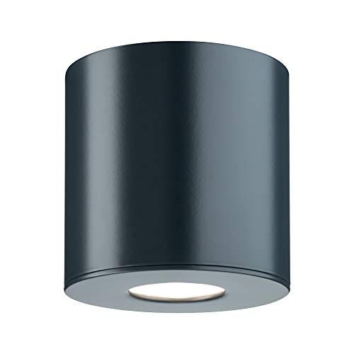 Paulmann 796.73 Lampada a Soffitto Plafoniera Illuminazione Esterna, 5.3W, Antracite, 9.5 x 9.5 x 9.5cm