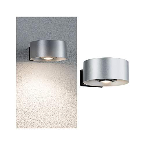 Paulmann 79676Outdoor House Cone Ip44Bianco Caldo 1 x 8W Emissione di Luce Solo Lato 30–90° Angolo Ausstrahl 79676Civico Lampada da Esterno Porta di Casa Lampada