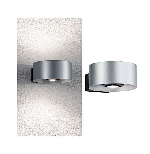 Paulmann 796.79Outdoor House Cone Ip44Bianco Neutro 2 x 6W Emissione di Luce Su Entrambi I Lati 30–90°