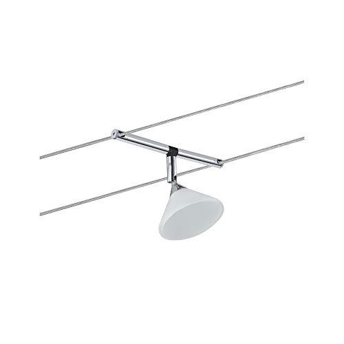 Paulmann 94138 Sistema cavo Spot Colmar max. 1x10W GU4 cromo/satin 12V metallo/vetro