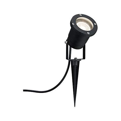 Paulmann 98896Special Line Garden Spotlight Ip44Gu103.5W 230V Alluminio 988.96Led Illuminazione da Esterno Paletto da Giardino Illuminazione Luci da Giardino, 3.5W, Nero, 32 x 9.2 x 32cm