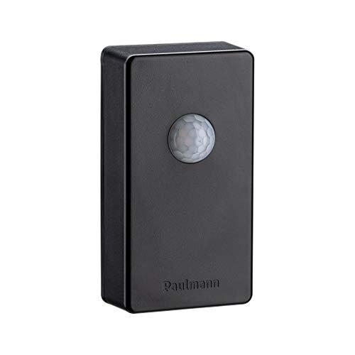 Paulmann IP44 Anthrazit 18012 Plug & Shine SmartHome Zigbee Sistema di Comando Wireless sensore crepuscolare/rilevatore di Movimento Illuminazione Esterna Antracite