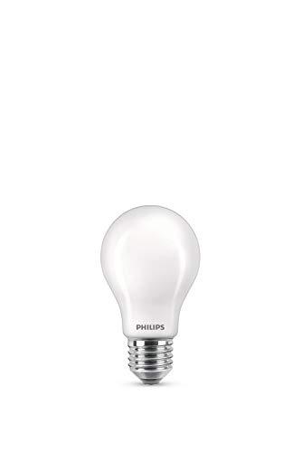 Philips Lampadina LED equivalente 75 W E27, bianco caldo, dimmerabile, vetro