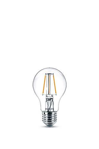 Philips Lampadina LED Goccia Filamento, Equivalente a 40W, Attacco E27, Luce Bianca Fredda, 4000K, non Dimmerabile
