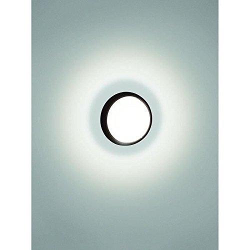 Philips Lighting 173043016 Eagle Lampada da Parete a LED per Esterni, Nero