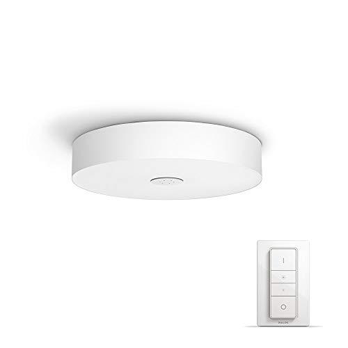 Philips Lighting Dimmer Switch Included Fair Ceiling Light Hue Lampada da Soffitto LED Integrata, 39 W, Bianco, 44.4 x 44.4 x 9.80 cm