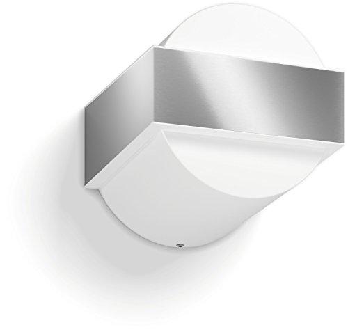 Philips Lighting Gravel Lampada da Parete da Esterno, Acciaio Inox