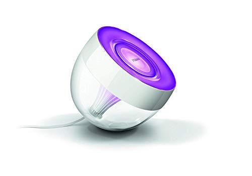 Philips Lighting Iris, Lampada da Tavolo Connessa, compatibile con Alexa, Google Home, Apple Home Kit