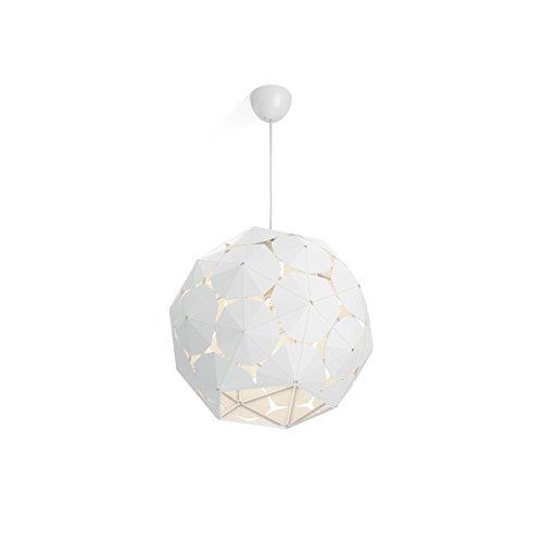 Philips Lighting Lampada a Sospensione Smart Volume Corkwood, Design Moderno, Cromato