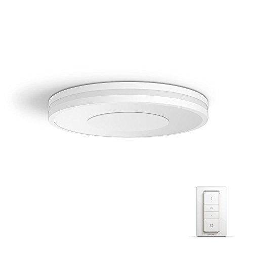 Philips Lighting Lampada da Soffitto, LED Integrata, 32 W, Bianco, 35 x 35 x 5 cm