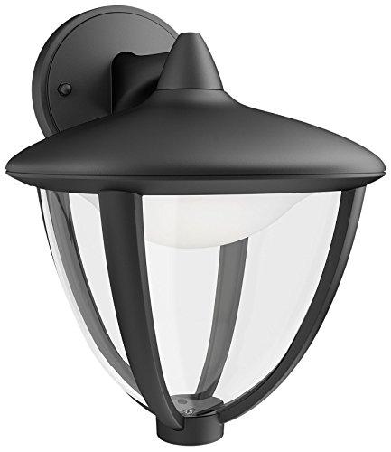 Philips Lighting Robin Lampada da Parete LED Down per Esterni Giardino, Nero