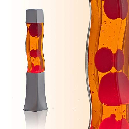 Piazza 42 cm di lava alta 42 cm arancione rosso RA1/5/717 Magmalamp