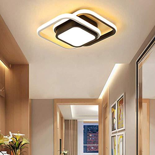 Plafoniera LED Soffitto,26W Lampada a Soffitto,Plafoniera Moderna per Bagno Camera da Letto Corridoio,IP54 3000K(Luce Calda)
