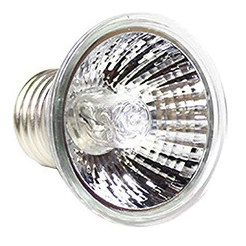POFET Rettile Basking Spot Climb Lampada per Animali Spettro Completo UVA UVB Tartaruga Tuff Lampada alogena antispruzzo Lampada da Sole Riscaldamento Tartaruga