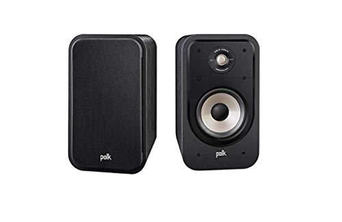 Polk Audio S20E Diffusore da scaffale, Nero