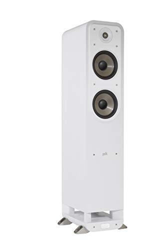 Polk Audio S50E Diffusore da pavimento, Bianco