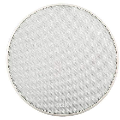 Polk Audio V 60Slim ad alte prestazioni del soffitto di altoparlanti da incasso, Bianco