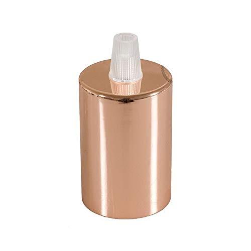 Portalampada in Metallo. Colori: Ottone, Rame - Attacco E27 (Rame)