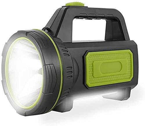 Potente torcia ricaricabile a LED 6000 mAh 1000 M torcia LED ad alta potenza con 135000 lumen e IP65 Faretto super brillante riflettore portatile