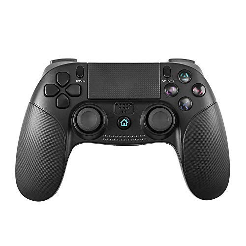 PowerLead Controller per PS4 Wireless, Gamepad Wireless Joystick Work per Playstation 4 /Slim/PRO e Playstation 3 Touch Panel Joypad con Dual Vibration Game Remote