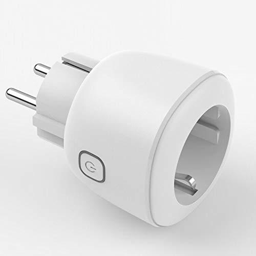Presa Intelligente WiFi, KEXIN Smart Wifi Plug, Controllo Remoto/Controllo Vocale Interruttore e Timer, Compatibile con Google Home/Amazon Alexa/IFTTT/iOS/Android (1 Pack Bianca)
