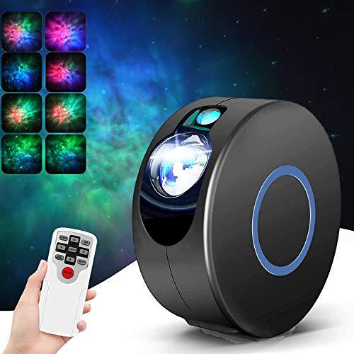 Proiettore a Luce Stellare Proiettore Stelle Bambini Telecomando Proiettore Nebulosa per Bambini Comodino, Camera da Letto, Casa Decorazione