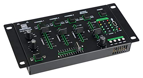 Pronomic DX-50 USB MKII DJ-Mixer 4 canali con Bluetooth